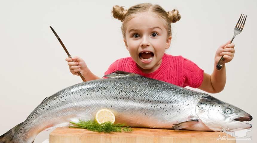 آبا خوردن ماهی بر خواب و هوش کودکان تاثیر مستقیم دارد؟