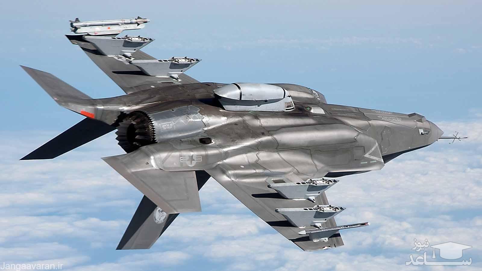 روزنامه اسرائیلی: ایران قابلیت هک کردن جنگنده اف 35 را دارد