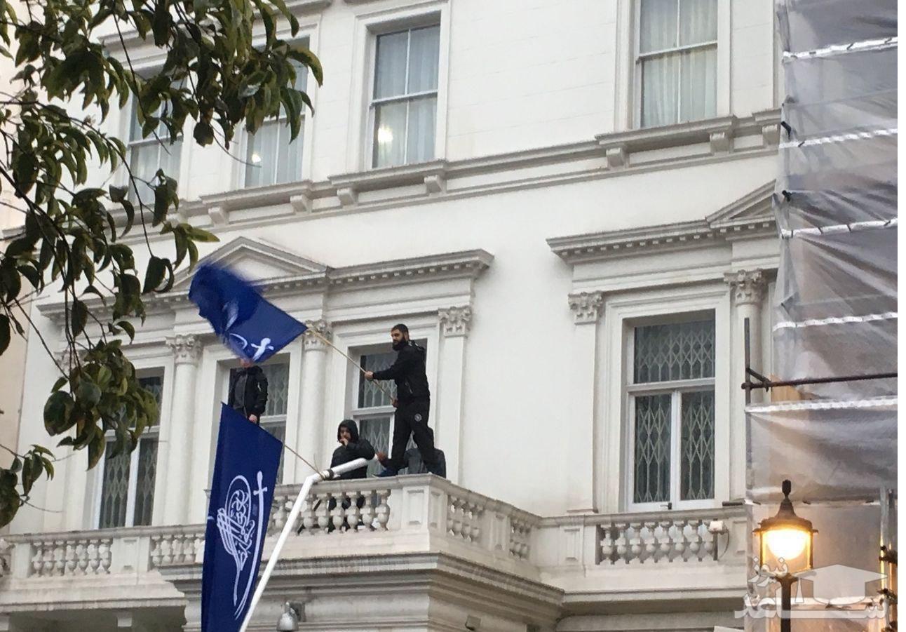 سفارت ایران در لندن اشغال شد