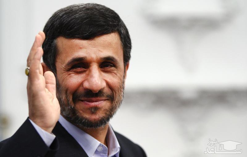 توصیه احمدینژاد برای ۴ شنبهسوری!/عکس