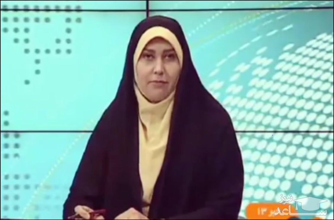 سوتی خانم مجری تلویزیون بدتر از «به سفر قطر کرد» !/ فیلم