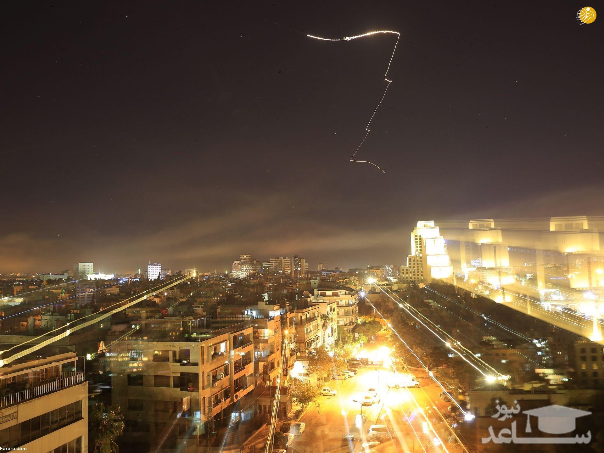 مردم سوریه پس از حمله نظامی آمریکا/عکس