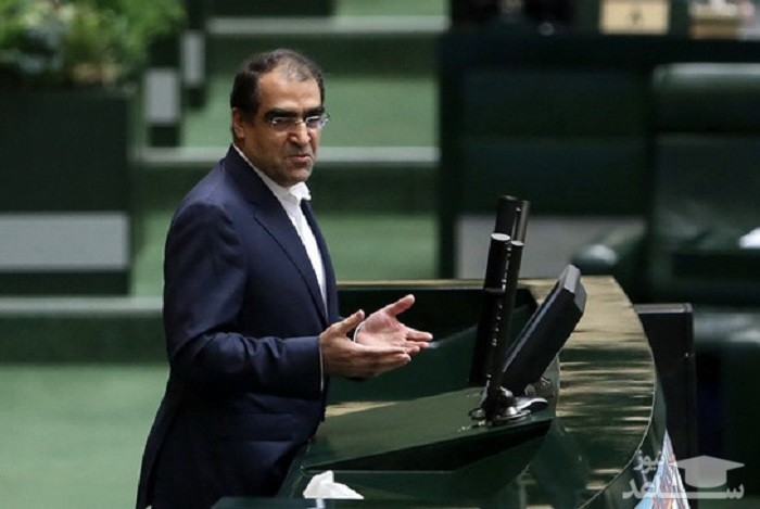 (فیلم) طعنه های سنگین وزیر بهداشت به قاضی پور