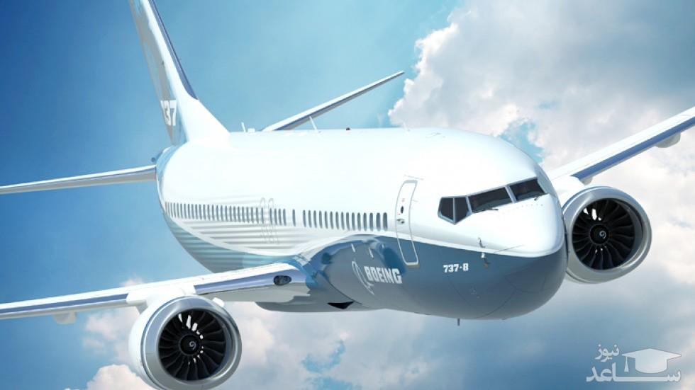 (فیلم) صحنه شگفت انگیز تیک آف بوئینگ 737
