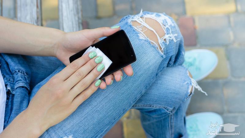 بهترین روش برای تمیز کردن گوشی موبایل!