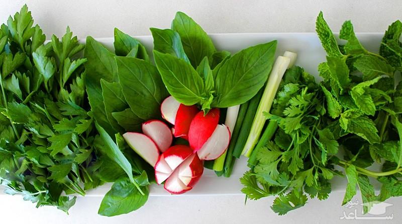 آشنایی با خواص شگفت انگیز سبزی خوردن