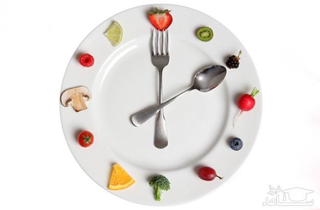 برای لاغر شدن چه ساعاتی غذا بخوریم؟