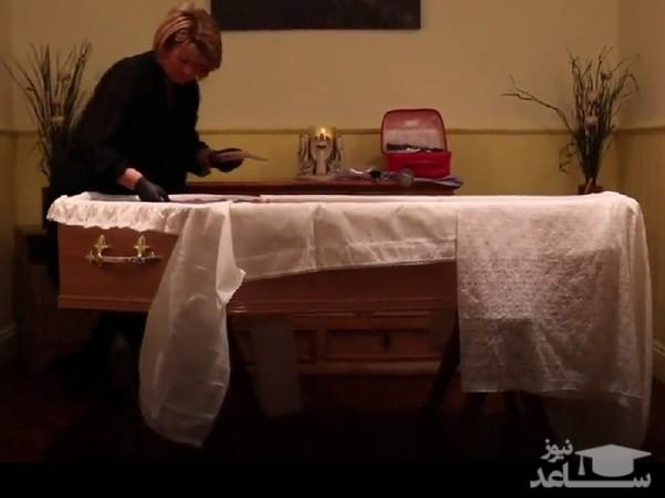 (فیلم) آرایشگر مردگان!