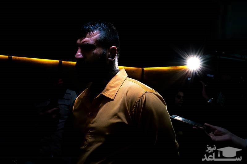 (فیلم) لحظه قتل توسط وحید مرادی که در مهمانی چاقو به دست شد!