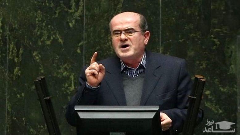 (فیلم) گاف بزرگ نماینده مجلس در تلفظ یک واژه انگلیسی