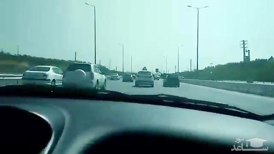 (فیلم) تعقیب و گریز دیدنی با قاچاقچی سوار بر پژو پارس