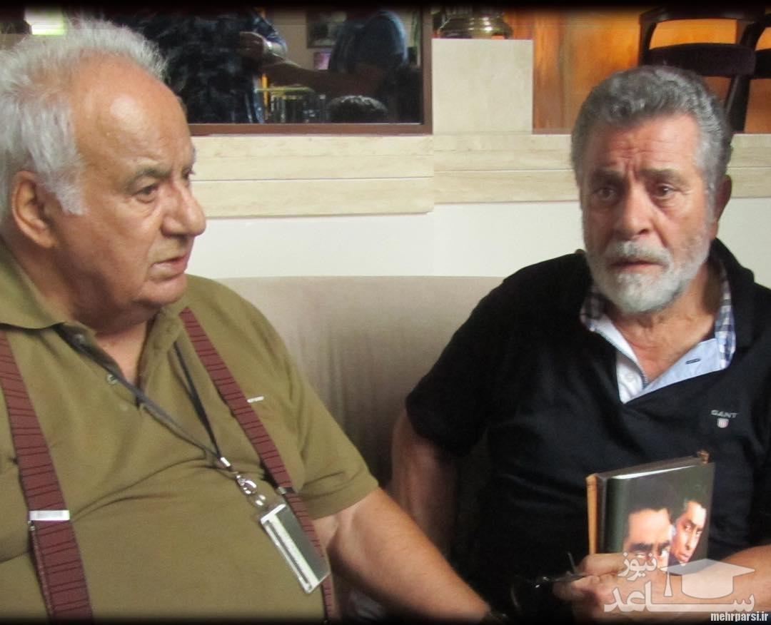 ویدیو بهروز وثوقی بعد از فوت ملک مطیعی