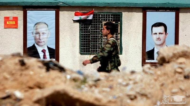 تنش بین نیروهای روسیه و حامیان اسد در سوریه