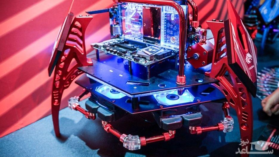 تصاویری از عجیبترین کیسهای رایانهای جهان در نمایشگاه کامپیوتکس ۲۰۱۸