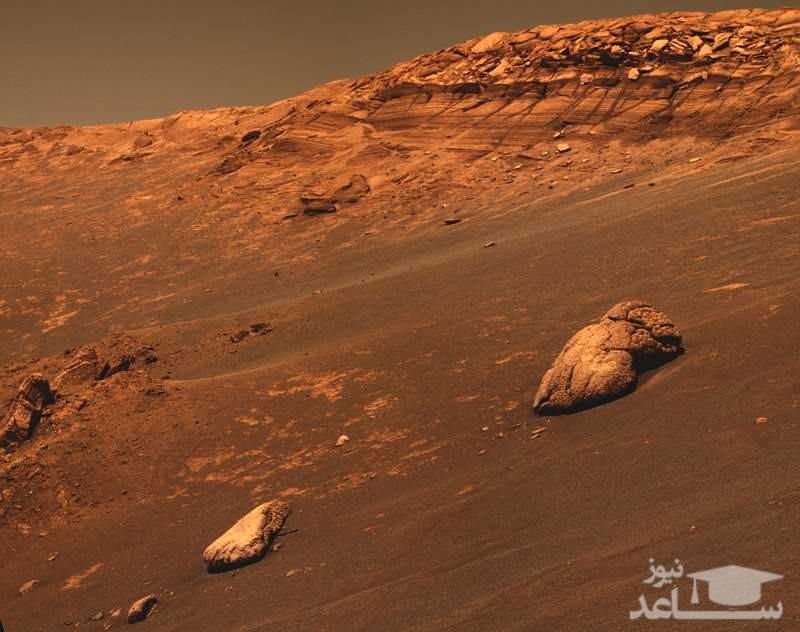 وجود نشانه هایی از حیات در مریخ !