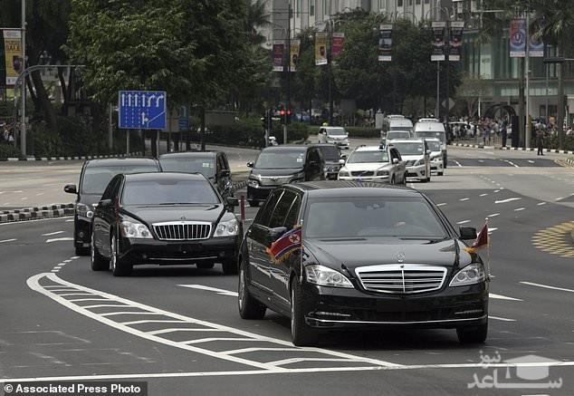 کیمجونگ اون در میان تدابیر امنیتی بیسابقه وارد سنگاپور شد