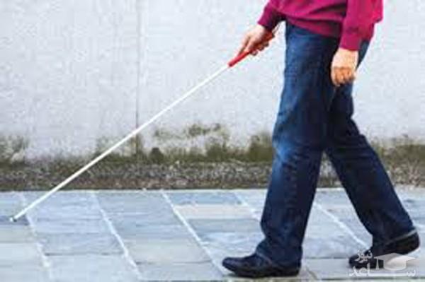 (فیلم) تکنولوژی جدید برای افراد نابینا!