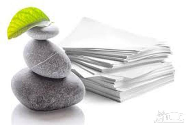 کاغذ سنگی جایگزین کاغذ الیافی خواهد شد