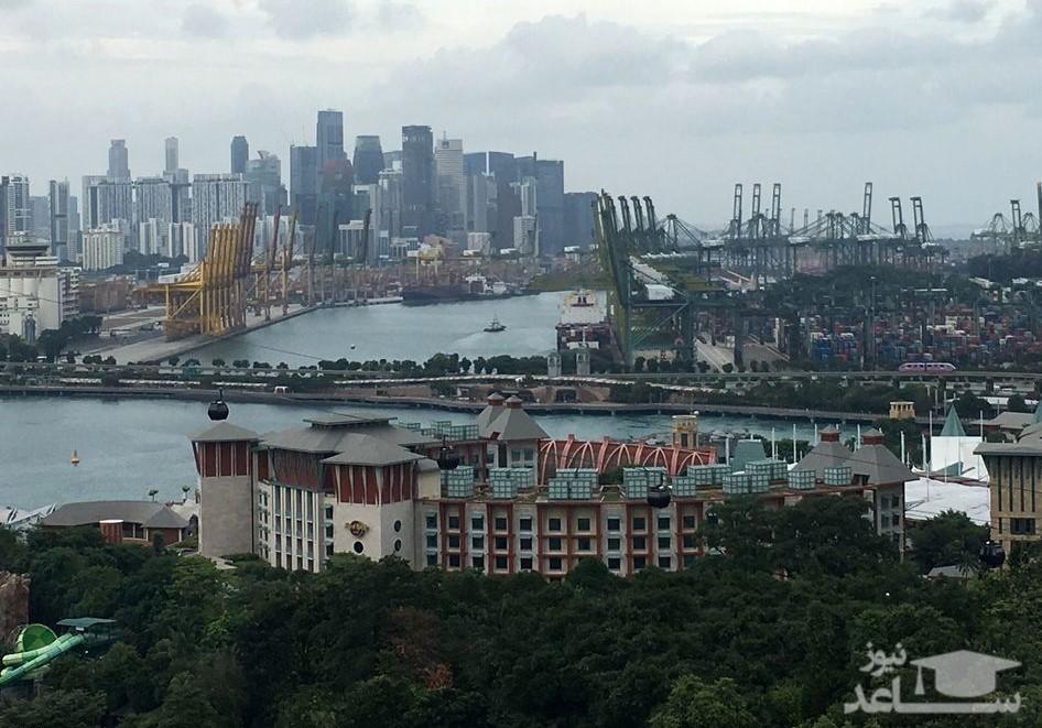 (تصاویر) حال و هوای سنگاپور پیش از دیدار ترامپ و اون