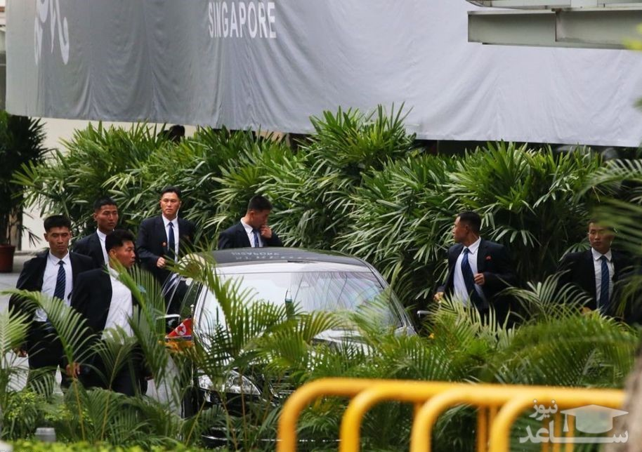 (تصاویر) ورود رهبر کرهشمالی به سنگاپور تحت تدابیر شدید امنیتی