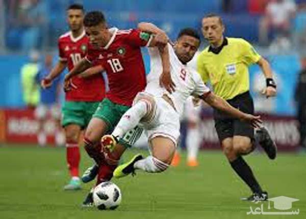 (فیلم) گزارشگر خارجی بازی ایران_مراکش در مورد تحریمهای ایران میگوید!