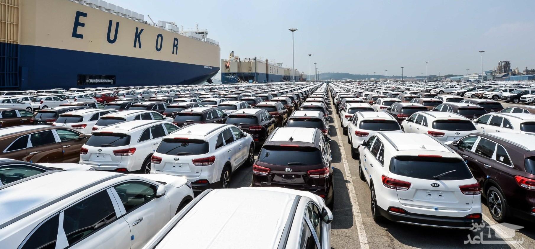 واردات هرگونه خودرو ممنوع شد