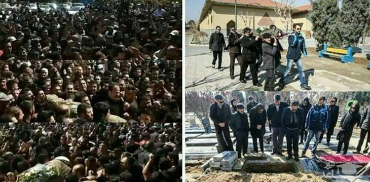مقایسه دو تشییع جنازه در ایران