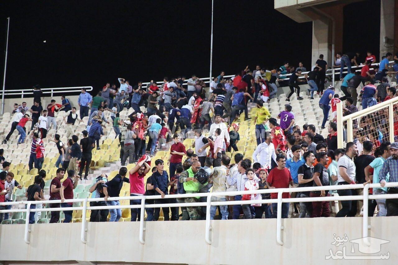 (عکس) روز خونین فوتبال ایران در اهواز
