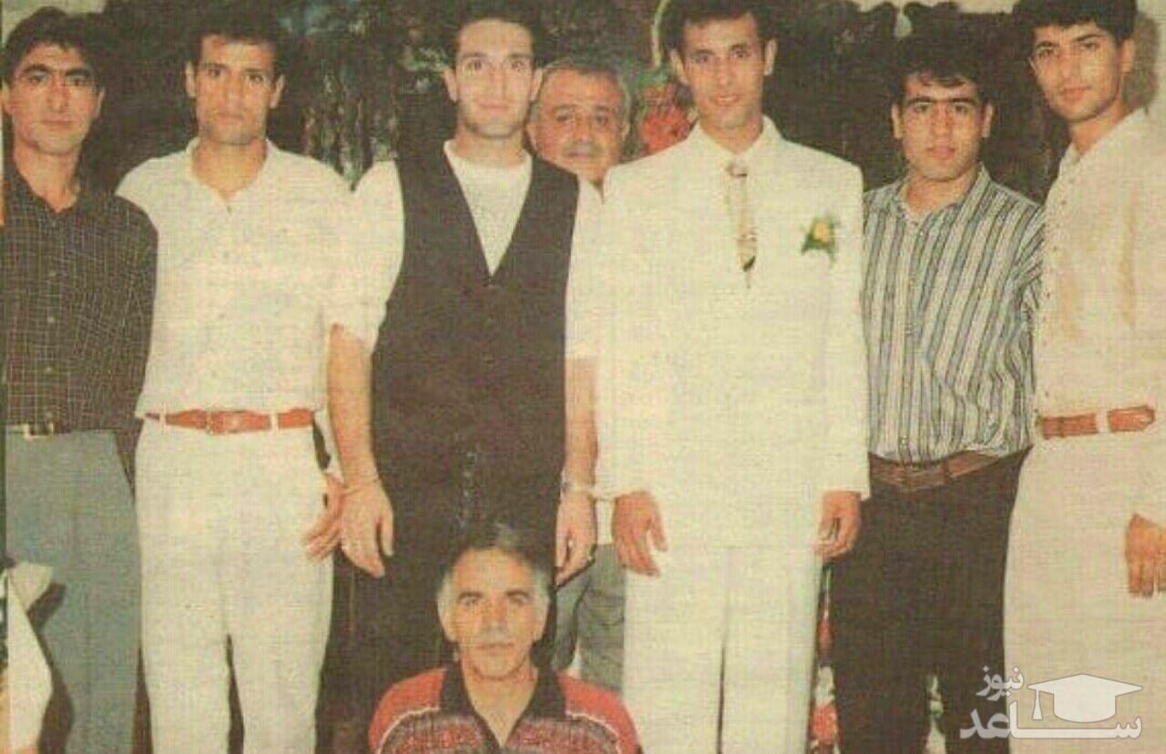 (عکس) فوتبالیست های دهه هفتاد در عروسی یحیی گل محمدی