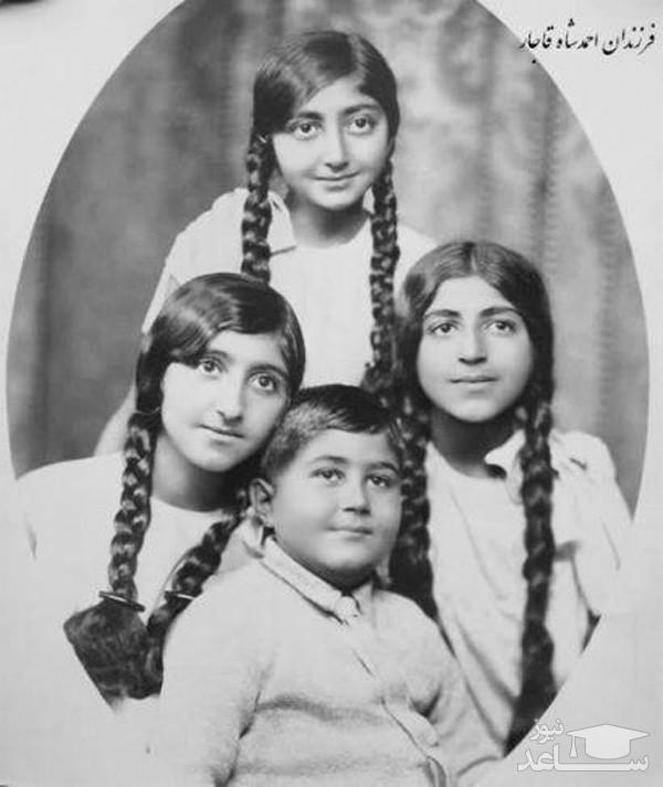 فرزندان احمد شاه قاجار