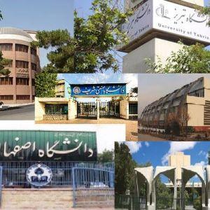 در آخرین رتبه بندی تایمز، جایگاه نخست از آن کدام یک از دانشگاه های ایران شد؟