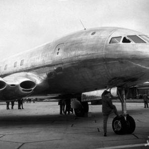 (عکس) صندلیهای یک هواپیمای مسافربری در ۹۲ سال قبل