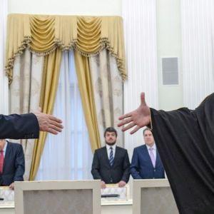 شوخی پوتین با ولیعهد عربستان