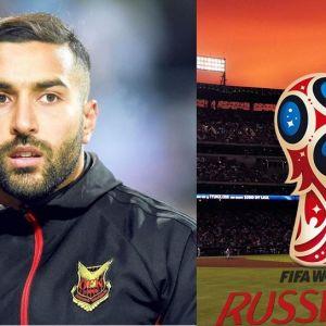 سامان قدوس در نوک خط حمله تیم ملی