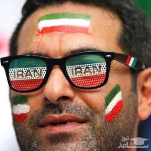 تصویر هوادار ایرانی در حساب اینستاگرام رسمی فیفا
