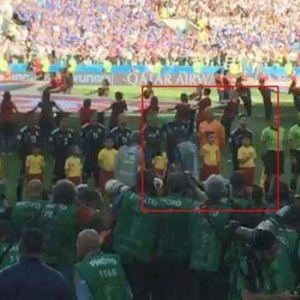 (عکس) رفتار گلر آرژانتین هنگام سرود ملی