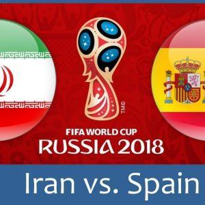 احتمالا بازی ایران و اسپانیا از تلویزیون پخش نشود!