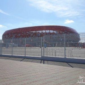 تصاویری از ورزشگاهی که بازی ایران و پرتغال در آن انجام خواهد گرفت