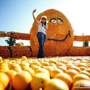 """(عکس) جشنواره """"لیمو و پرتقال"""" در آنتالیا"""