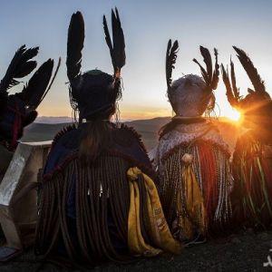 (تصاویر) مراسم باستانی شامانیسم بومیان مغول