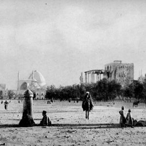 قدیمی ترین عکس میدان نقش جهان اصفهان سال ۱۲۸۰