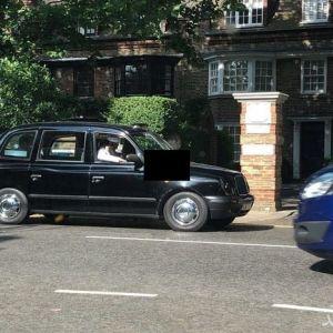 (عکس) گشت زنی فردی شبیه بن لادن در لندن
