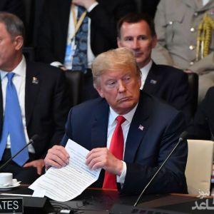 (تصاویر) ژستهای ترامپ در فضای تنشآلود سران ناتو