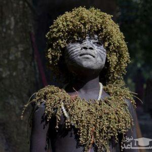 تصاویری از انسان های بومی جزیره گم شده و دور از جهان مدرن!