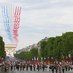 (فیلم) گاف ارتش فرانسه در روز ملی این کشور