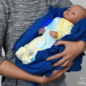 لباس هوشمندی که زردی نوزادان را درمان میکند!