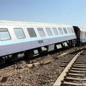 قطار مسافربری مشهد_یزد از ریل خارج شد