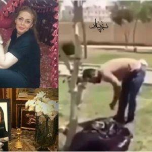 (فیلم) قتل زن جوان در جلوی دادگاه اسلامشهر به خاطر درخواست طلاق