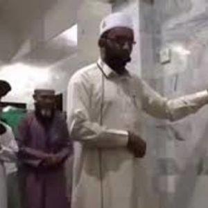 (فیلم) زلزله 7 ریشتری وسط نماز جماعت