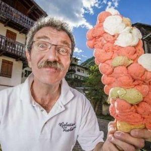 (عکس) ثبت بزرگترین بستنی دنیا در «گینس»